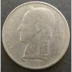 Coin Belgium : 1 Franc 1967
