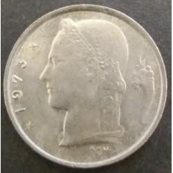 Coin Belgium : 1 Franc 1973
