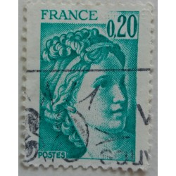 Stamp France: Marianne 20...
