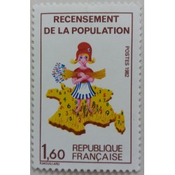 Stamp France: Census of...