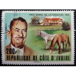 Stamp Ivory Coast: John...