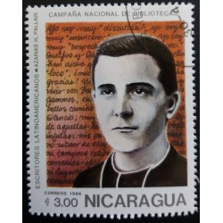 Nicaragua stamp: Azarias...