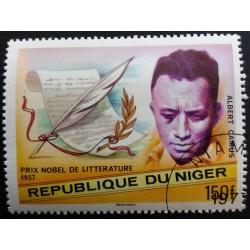 Niger Stamp: Albert Camus...