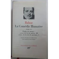 Balzac Pléiade La Comédie...