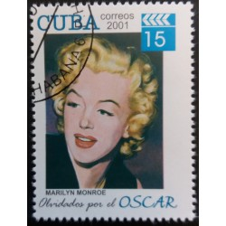 Cuba stamp: Marilyn Monroe...