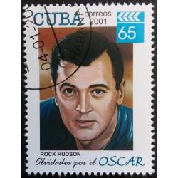 Cuba stamp: Rock Hudson...