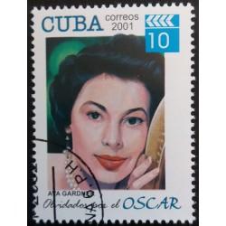 Cuba stamp: Ava Gardner...