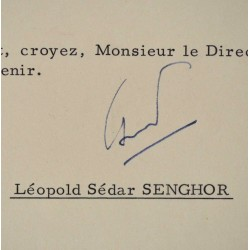 Letter President of Senegal...