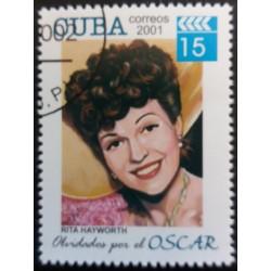 Cuba Stamp: Rita Hayworth...