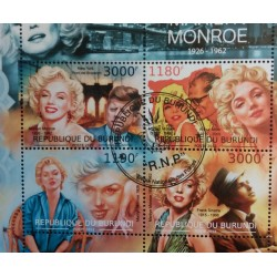 Burundi Stamp: Lot Marilyn...
