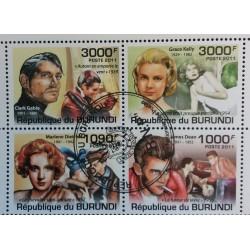 Burundi stamp: Lot American...