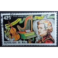 Mali stamp 1981: Mozart...