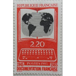 French Stamp: French...