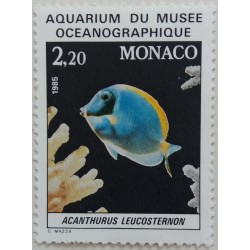 Monaco Stamp: Aquarium of...