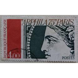 Stamp France: Arphila 75...