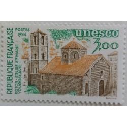 Stamp France: Unesco Kotor...