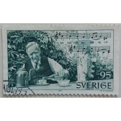 Stamp Sweden: 95 kroner 1977