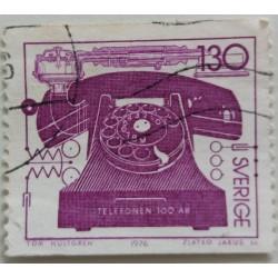 Stamp Sweden: 1.3 Crown 1976