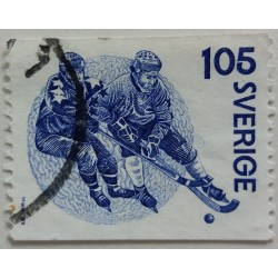 Stamp Sweden: 1.05 Crown...