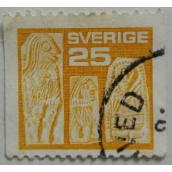 Sweden stamp: 0.25 Crown