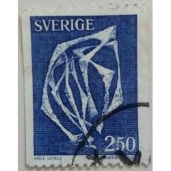 Stamp Sweden: 2.50 Crown...