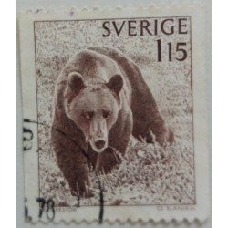 Stamp Sweden: 1.15 Crown...