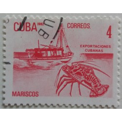 Cuban stamp: 4 Cuban export...