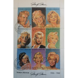 Sao Tome stamp: 9 Marilyn...