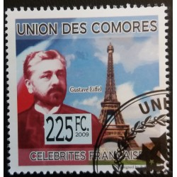 Comoros stamp: Gustave...