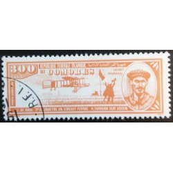 Comoros stamp: Henry Farman...