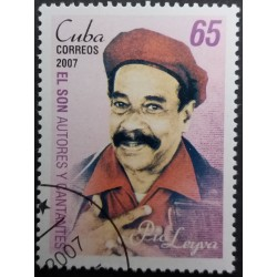 Timbre Cuba : Pio Leiva 65...