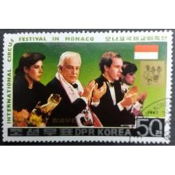 Nordkorea-Briefmarke:...