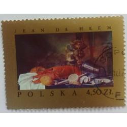 Poland stamp: Jean de Heem...