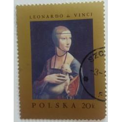 Poland Stamp: Leonardo da...
