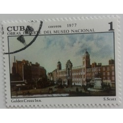 Cuba stamp: S. Scott Golden...