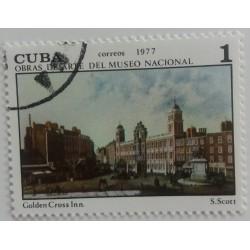 Sello de Cuba: S. Scott...