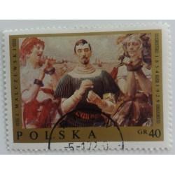 Poland Stamp: J. Malczewski...