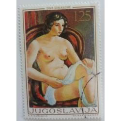 Jugoslawische Briefmarke:...