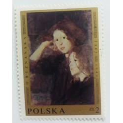 Poland Stamp: O. Boznanska...
