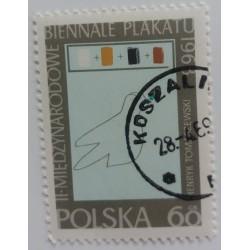 Poland stamp: Biennale...