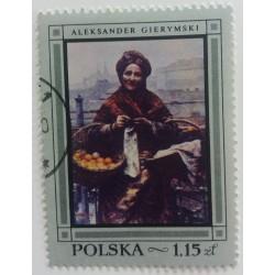 Poland stamp: Aleksander...