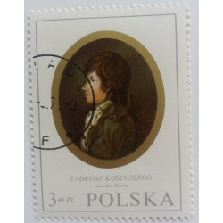 Stamp Poland: Portrait Jan...