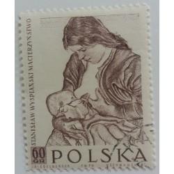 Poland stamp: Stanislaw...