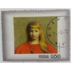 Poland Stamp: J. Pankievicz...