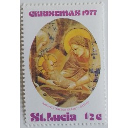 Saint Lucia stamp: Nativity...