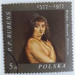 Timbre Pologne : Rubens...