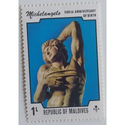 Maldives stamp: 500th...