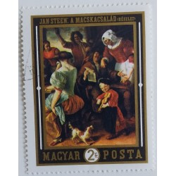 Stamp Hungary: Painting by...
