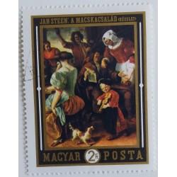 Timbro Ungheria: dipinto di...
