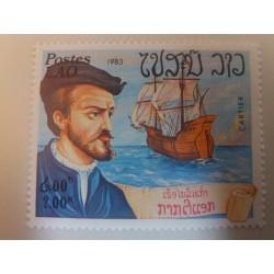 Laos Stamp: Cartier...